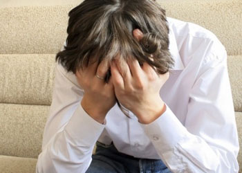 Depression Male Client